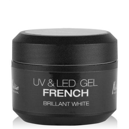 GEL UV & LED FRENCH BRILLANT WHITE 15ml
