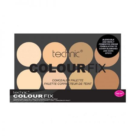 Trusa Profesionala Anti Cearcane Cu 8 Corectoare Cremoase TECHNIC Colour Fix Light 8x3.5g